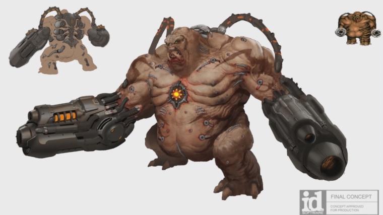 doom-eternal-enemy-concept