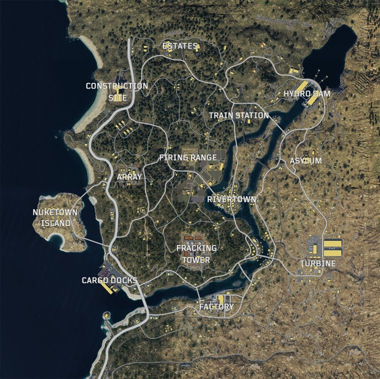 black out map